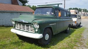 1955 Chevrolet 3800 Panel Truck | Militaria, Trains, Space, Weapons ... Check Out This 1955 Chevrolet Panel Van With 600 Hp Of Duramax Power Chevy Trucks History 1918 1959 9 Sixfigure Apache Classics For Sale On Autotrader Custom Gaa Classic Cars Ford Truck The Rest Of Story In The Old Parked Cars 1958 Suburban Delivery Sedan Deliverys Pinterest 1957 Chop Top Yarils Customs 3800 Panel Truck Militaria Trains Space Weapons Tci Eeering 51959 Suspension 4link Leaf