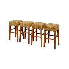 OFF Pottery Barn Pottery Barn Sea Grass Stools Chairs