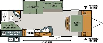 Travel Trailer Floor Plans With Bunk Beds by 100 Sportsman Rv Floor Plans Kz Rv Sportsmen Classic Toy
