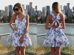 Cute Floral Summer Dresses Tumblr Mode Style
