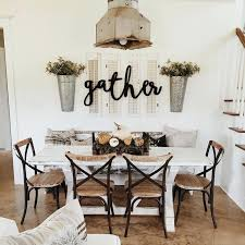 Diy Dining Room Wall Decor Love The Gather Sign For Dinning