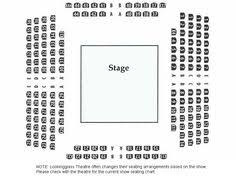 Westchester Broadway Theatre Seating Chart