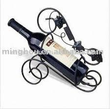 single bottle metal wine rack metal crafts wine bottle holder