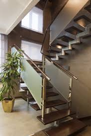 500 Spectacular Staircase Ideas For 2017 | Wood Handrail, Modern ... Modern Glass Stair Railing Design Interior Waplag Still In Process Frameless Staircase Balustrade Design To Lishaft Stainless Amazing Staircase Without Handrails Also White Tufted 33 Best Stairs Images On Pinterest And Unique Banister Railings Home By Larizza Popular Single Steel Handrail With Smart Best 25 Stair Railing Ideas Stairs 47 Ideas Staircases Wood Railings Rustic Acero Designed Villa In Madrid I N T E R O S P A C