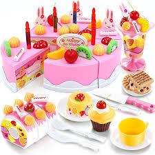jeux de cuisine de cake 75 pcs set enfants cuisine jouets pour enfants fille jouets de