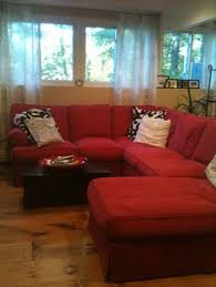 Red Living Room Ideas by Bold Red Couches What A Statement Redcouch Statementcolor