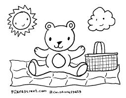 Empty Bushel Basket Coloring Page Designs Canvas