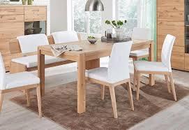 decker esstisch dervio aus massivholz breite 160 cm oder 180 cm auch mit auszugsfunktion kaufen otto