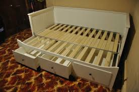 bed ikea hemnes day bed with drawers converts to double pick up
