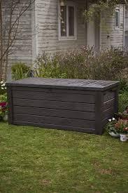 keter westwood 150 gallon resin deck box reviews wayfair