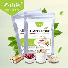 Huai Shan Source Yam Beans Barley Cereal Flour G Red Cooked