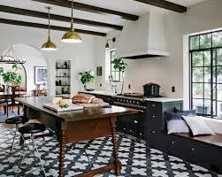 sols de cuisine sols et tapis carrelage cuisine noir et blanc idees sol carrelage