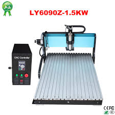 high speed 1 5kw water cooled spindle motor 3 axis cnc router 6090