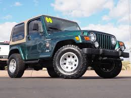 100 New Lifted Trucks Used 2000 Jeep Wrangler For Sale At Phoenix VIN