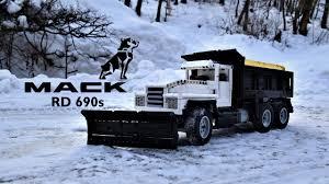 100 Rc Truck Snow Plow Lego Technic RC Mack RD 690s