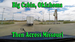 100 Big Cabin Truck Stop Out Of Travel Center Then East Across Missouri My Over
