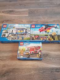 Selling Lego City Police Truck, Fire Engine And Resue Helicopter ...