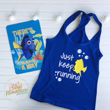 Finding Nemo Baby Clothes And by Just Keep Running Racerback Tank Top Rundisney Finding Dory