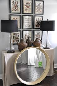 Bungalow Blue Interiors Home a new mirror for the entryway a