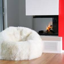 Longwool Sheepskin Beanbag Yes Maybe A Couple Of These In Pink And Purple Would