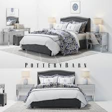 Pottery Barn Bedroom Sets by Pottery Barn Tamsen Grey Bedroom Set With Decor