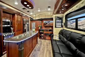 2016 5th Wheel Toy Hauler Floor Plans by Toy Hauler With Outdoor Kitchen Inspirations Travel Trailer Model