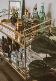 how to style a bar cart wohnzimmer bar wohnung esszimmer