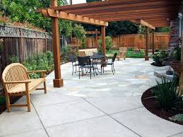 Patio Ideas ~ Backyard Concrete Patio Images Backyard Stamped ... Tiles Exterior Wall Tile Design Ideas Garden Patio With Wooden Pattern Fence And Outdoor Patterns For Curtains New Large Grey Stone Patio With Brown Wooden Wall And Roof Tile Ideas Stone Designs Home Id Like Something This In My Backyard Google Image Result House So When Guests Enter Through A Green Landscape Enhancing Magnificent Hgtv Can Thi Sslate Be Used