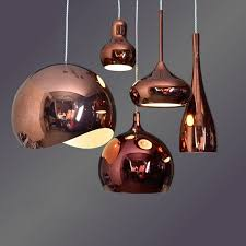 Aliexpress Buy Bar Antique Rose Gold Pendant Lights Restaurant Dining Room E27 Led Lamps Modern Cafe Light Creative Red Purple From