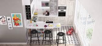 cuisines petits espaces table cuisine petit espace 7 solutions pour des cuisines ouvertes