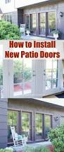 Masonite Patio Doors With Mini Blinds by 16 Best Masonite Transformations Images On Pinterest Barn Doors