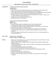Entry Level Software Engineer Resume Samples | Velvet Jobs 32 Resume Templates For Freshers Download Free Word Format Warehouse Workerume Example Writing Tips Genius Best Remote Software Engineer Livecareer Electrical Engineer Resume Example Lamajasonkellyphotoco Developer Examples 002 Cv Template Microsoft In By Real People Intern At Research Samples Velvet Jobs Eeering Internship Sample Senior Software Awesome Application 008 Ideas Eeering