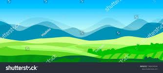 100 Minimalist Landscape Vector Stock Vector Royalty Free