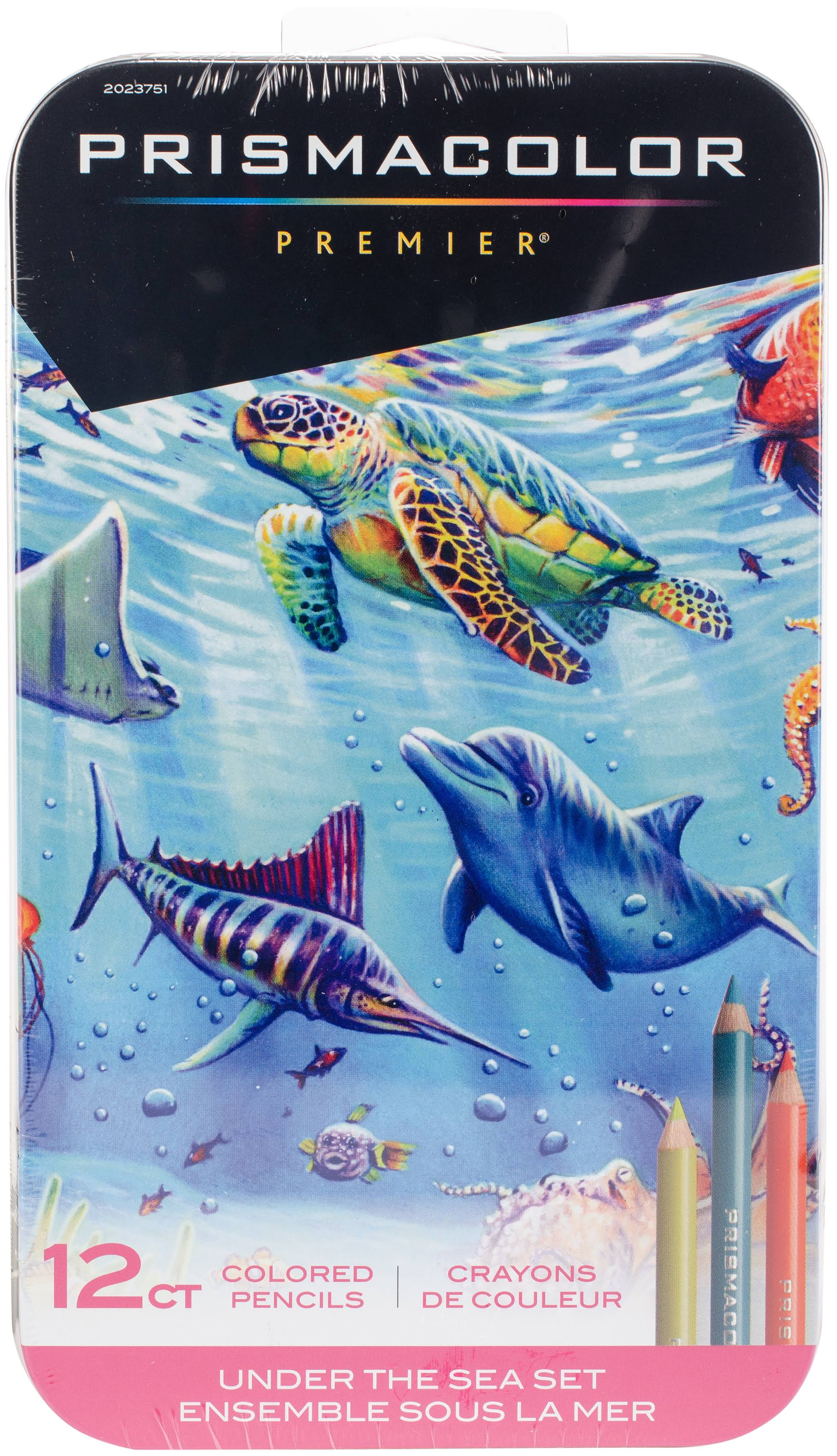 Prismacolor Colored Pencil Set of 12 - Under The Sea
