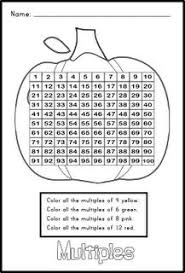 Halloween Multiplication Worksheets Coloring by Here U0027s A Halloween Themed Activity For Working On Array