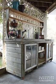 Shed Bench by 80 Best Potting Tables I Like Images On Pinterest Potting Tables