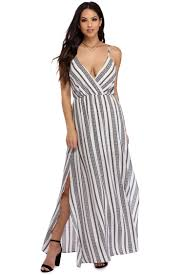 ivory beach side maxi dress