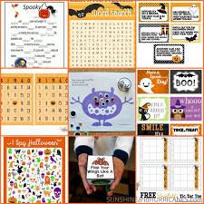 Halloween Mad Libs For 5th Graders by Halloween Printables Cute To Creepy Fun For All Ages