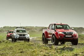 100 Toyota Artic Truck Arctic S Hilux Iceland Road Test