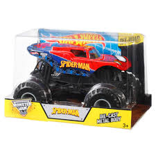 Hot Wheels Monster Jam Spider-Man Die-Cast Metal Vehicle - Walmart.com Long Haul Trucker Newray Toys Ca Inc Hot Wheels Monster Jam 124 Grave Digger Diecast Vehicle Walmartcom Toy Trucks Metal Truck Track Videos Kshitiz Scooby Doo For Sale Best Resource Cyborg Shark 164 Scale Toys Pinterest 2017 Collectors Series Nickelodeon Blaze And The Machines Transforming Rc 6pcs Racer Car Vehicles Road Rippers 17 Big Foot Blue Amazoncom Wrecking Crew 1 Spiderman Whosale Now Available At Central Items 40