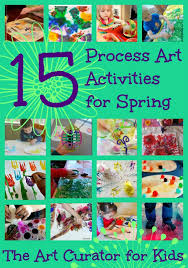 15 Spring Process Art Activities