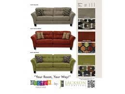 Ergonomically Correct Living Room Furniture by Jackson Furniture Living Room Sofa 438103 China Towne Furniture
