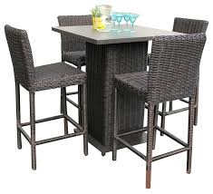 Bar Height Bistro Patio Set by Bar Stool Outdoor White Plastic Bar Stools And Table Outdoor Bar