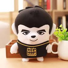 Amazoncom BTS Small Plush Puppets Bangtan Boys Funny Hiphop