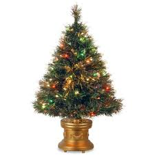 Fiber Optic Christmas Trees Canada by National Tree Company 36 In Fiber Optic Fireworks Artificial