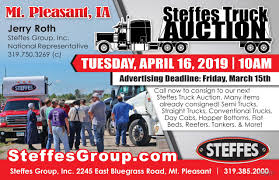 100 Commercial Truck Auctions Steffes Auction In Mt Pleasant Iowa By Steffes Group Inc