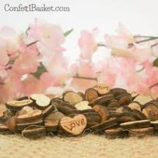 150 Love Wood Hearts 3 8
