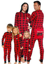 deck the family in matching christmas pajamas yoyomama