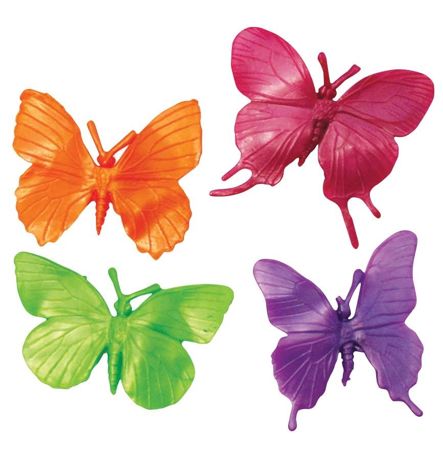 Play Visions Stretchy Butterflies Fidgets - x4