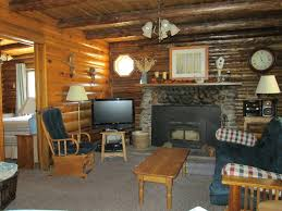 Enjoyable Rustic Living Room Decors With Vintage Style Interior Furnishings As Well Old Fireplace Wood Burning Inspiring Cabin Pictures